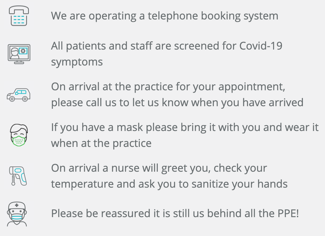 Your Dental Visit - Message